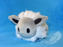 Shiny Eevee Tsum Prototype by FeatherStitched