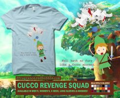 Cucco Revenge Squad by digitalfragrance