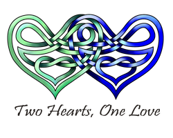 Two Hearts by KnotYourWorld