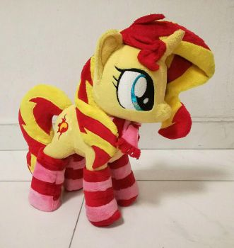 Sunset Shimmer small plush by Duskie-06