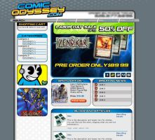 Web Design: Comic Odyssey by Catwoman69y2k