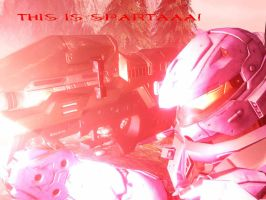 Halo 3 - THIS IS SPARTA by ShiroUzumaki