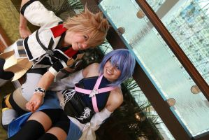 Kingdom Hearts- Birth By Sleep: Aqua and Ventus by VandorWolf