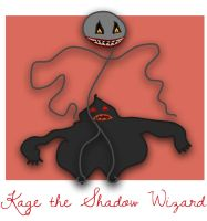 Adventure Time OC: Kage the Shadow Wizard by underaoised