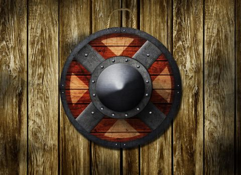 Viking Shield by wilborn7