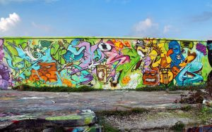 Sanz&pyser-bonkers Wall by SANS-01-2-MHC-BS