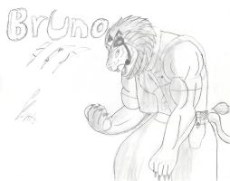 Bruno the humanoid by goliad