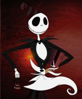 Jack Skellington by Spiritwollf