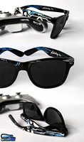 Halo 4 handpainted sunglasses by Ketchupize