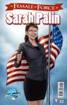 Sarah Palin Female Force cover by VinRoc