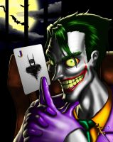 The Joker: Is this your card? by Digi-Ink-by-Marquis