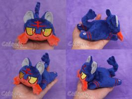 Litten Custom Chibi Doll