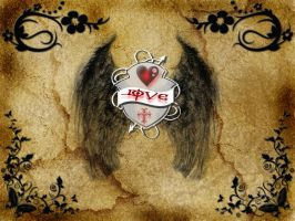 ON THE WINGS OF LOVE by butchen