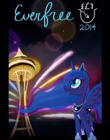 Everfree Northwest Poster 2014 by Hollulu