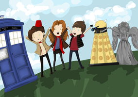 We Love Doctor Who by akane3196