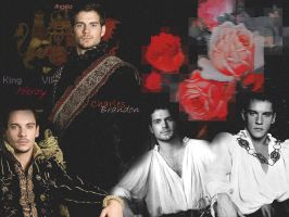 Henry VIII and Charles Brandon by 25djadja