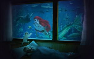 Underwater Dreams with Ariel by alexa-asta