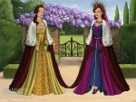 The Queen of Scotland and the Queen of France by TLKFANKING