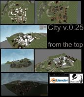 city v.0.25 from the top by DennisH2010