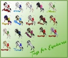 Tag collection 2. by absolugirl