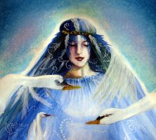 The Wild Swans by Art-from-the-heart-x