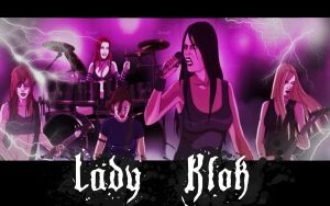 Lady Klok WP by MiZuInK
