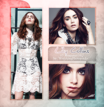 Photopack 509 - Lily Collins by xbestphotopackseverr
