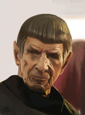 Spock by WhoAmI01