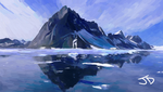 Ice Mountain by rduncan20