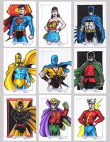 DC Legacy Sketch Cards G by tonyperna