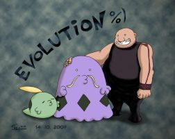 Evolution by Shuu21