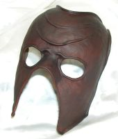 Simple formed leather mask by GriffinLeather