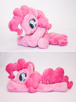 Pinkie Pie Beanie Plush - for sale! by tiny-tea-party