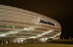 Allianz Arena Lights Out by amhaley