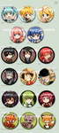 Various button set by meago