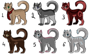 Cat adoptables auction CLOSED by May-Ly