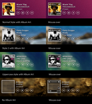 iTunes Player 2 for Rainmeter by maxvanijsselmuiden