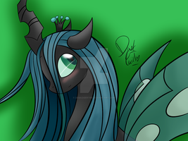 Queen Chrysalis by Debadgerter