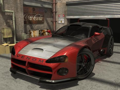 Dodge Viper by sevenmelons83