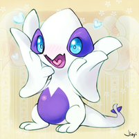 kyaaaaa said the Lugia by Jiayi