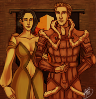 King and Queen of Fereldan by naomi-makes-art73