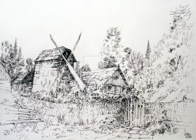 Polish village - Nowogrod by crewthere1