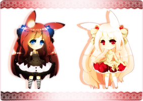 Bunny Adoptables! [Giveaway Closed] by Rinabi