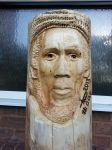 bob marley wood carving by simondrawme