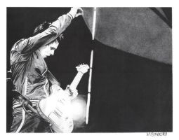 Matt Bellamy Charcoal by chromefox
