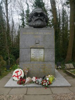 Marx's Grave by Party9999999