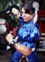 Chun Li ~ Street Fighter by sammylebarros