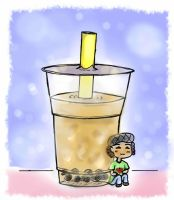 For cececups: Bubble Milk Tea by marimariakutsu