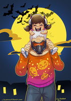 DVA and PopPop by SupaCrikeyDave