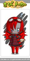 Red Chibi! by AlphonseElric13